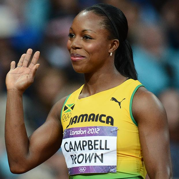 Image result for Veronica Campbell-Brown