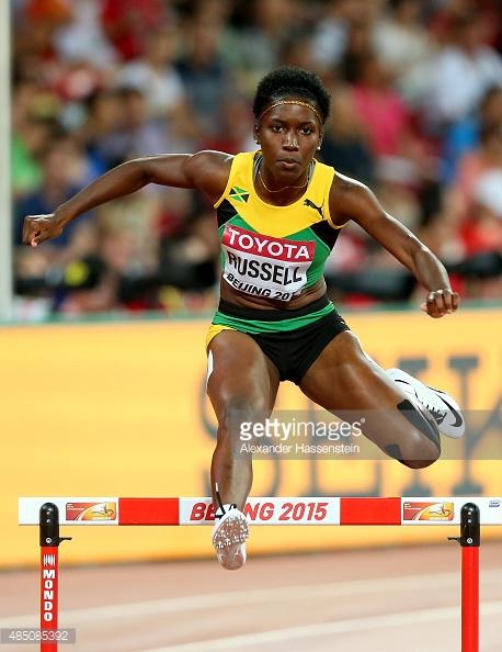 janieve russell Jamaica National trials