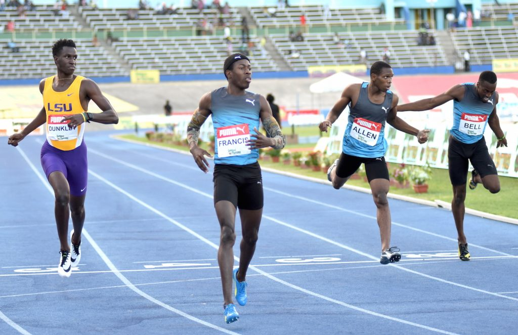Javon Francis In Last Ditch Effort To Qualify For Doha 2019