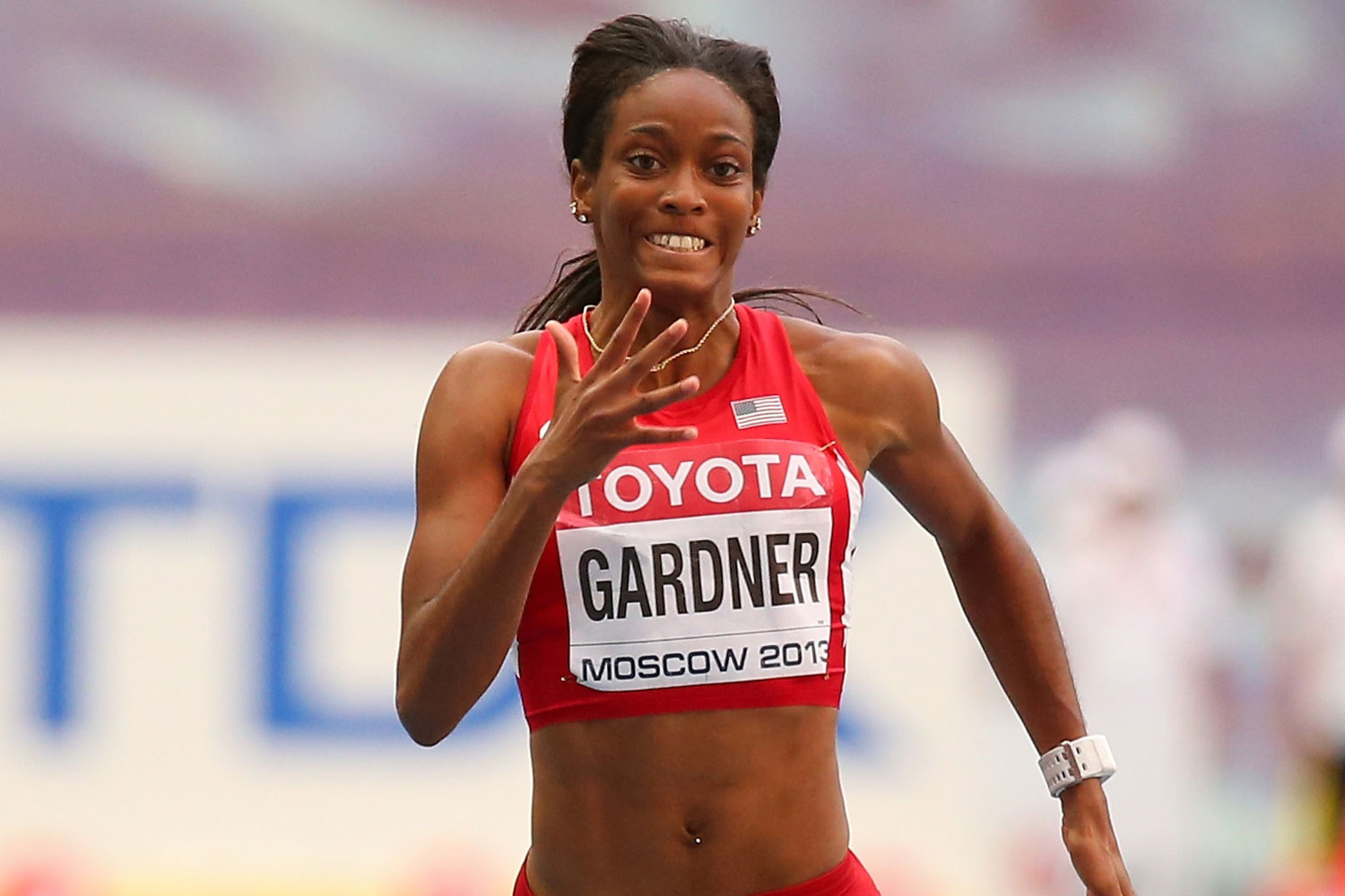 Marvelous U201cItu0027s Going To Be Nasty,u201d English Gardner Says Of 4×1 In Rio | Trackalerts