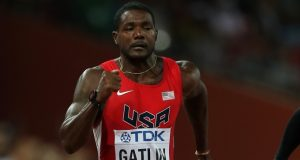 Gatlin wins 100m at Seiko Golden Grand Prix