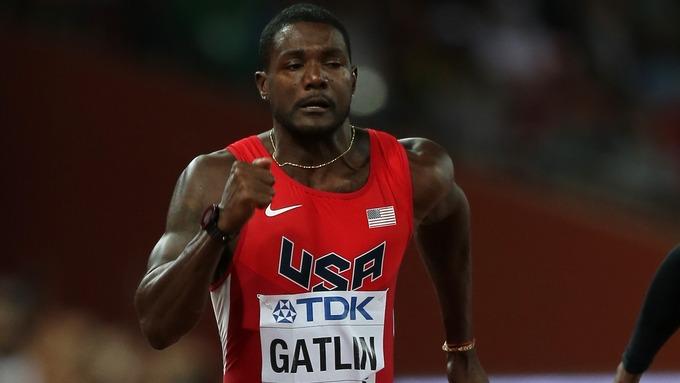 Gatlin wins 100m at Seiko Golden Grand Prix