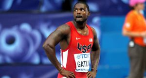 Gatlin will face strong opponents at Ostrava Golden Spike