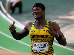 Omar McLeod ready for Millrose Games