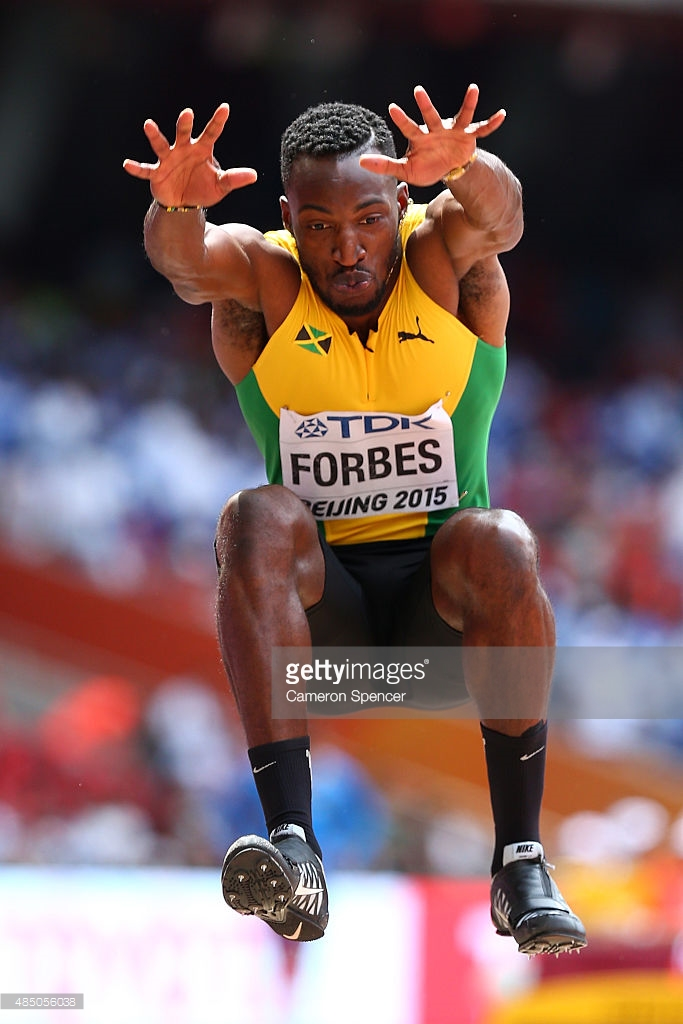 Damar Forbes Olympic Games in Rio