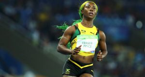 Shelly Ann Fraser-Pryce of Jamaica