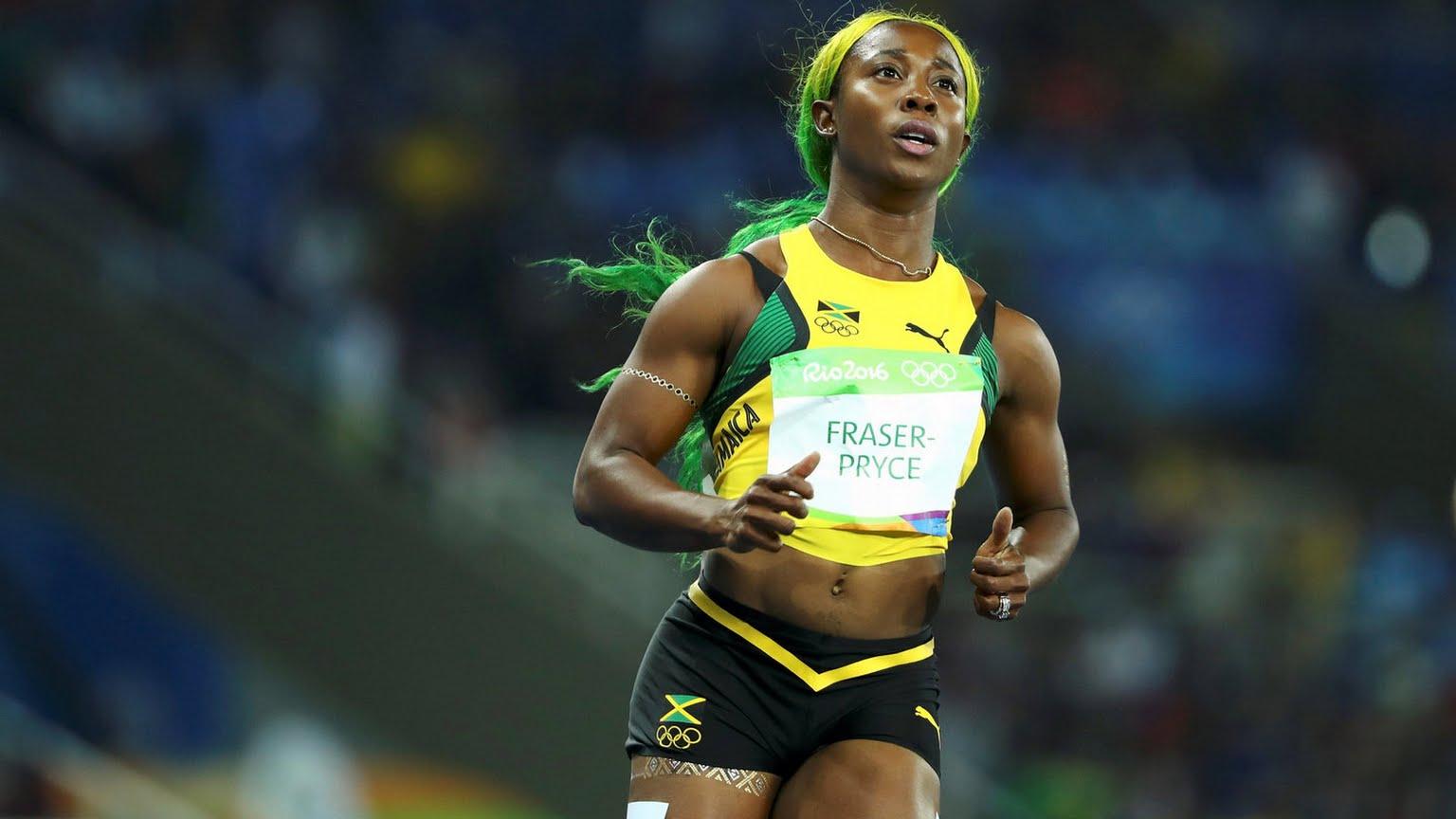 Shelly Ann Fraser-Pryce of Jamaica