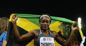 Elaine Thompson wins at Jamaica Invitational