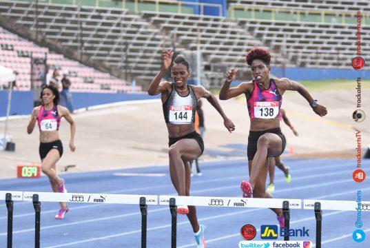 Janieve Russell Jamaica Trials