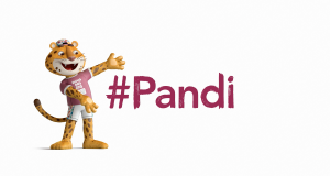 Mascot #Pandi for Buenos Aires 2018
