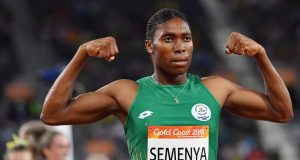 Caster Semenya turns to football
