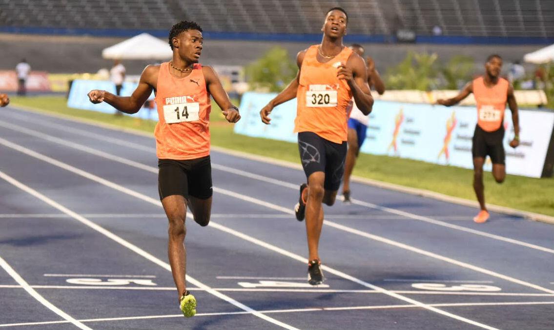 Christopher Taylor Wins 400m Title