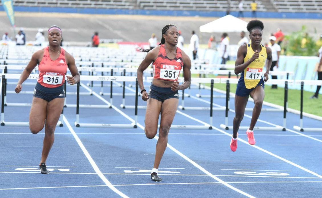 Danielle Williams 100m Hurdles