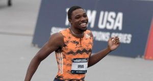 Noah Lyles again stamped his claim on the men's 200m with another impressive display at Friday's (5 July) Lausanne Diamond League meeting.