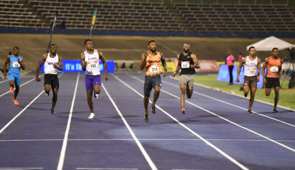Rasheed Dwyer At Jamaica National Championships 2018