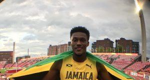 Damion Thomas wins 110m hurdles at at World U20 Championships