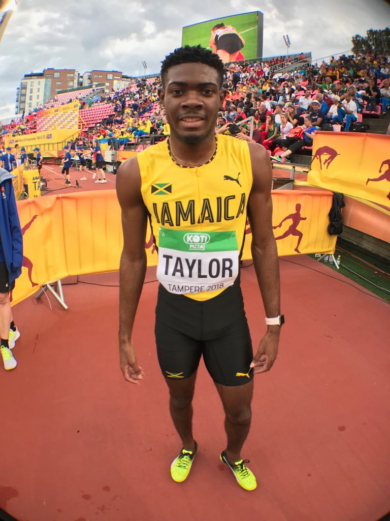 Christopher Taylor wins silver at NACAC Champs 2021