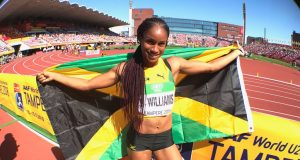 Briana Williams wins 200m at World U20 Championships 2018