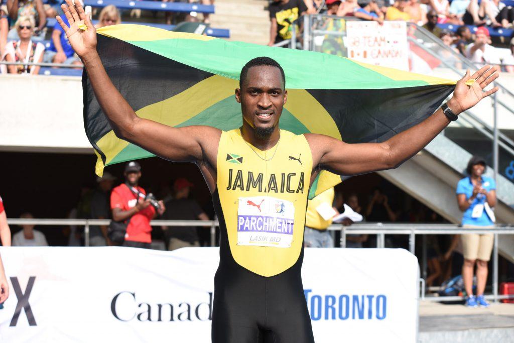 Hansle Parchment wins men's 110m hurdles at NACAC Championships 2018