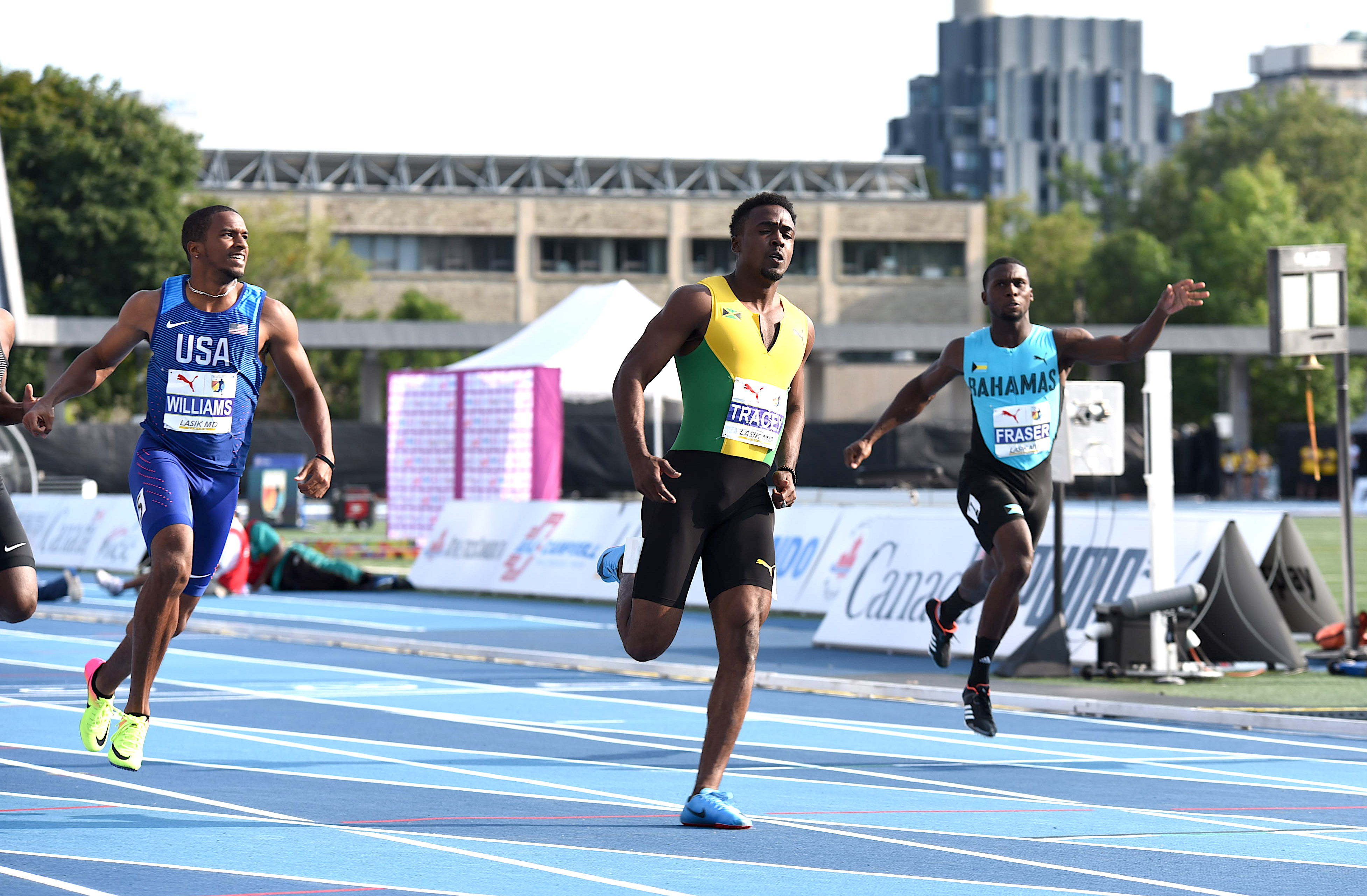 Tyquendo Tracey is the 2018 NACAC Championships men's 100m winner
