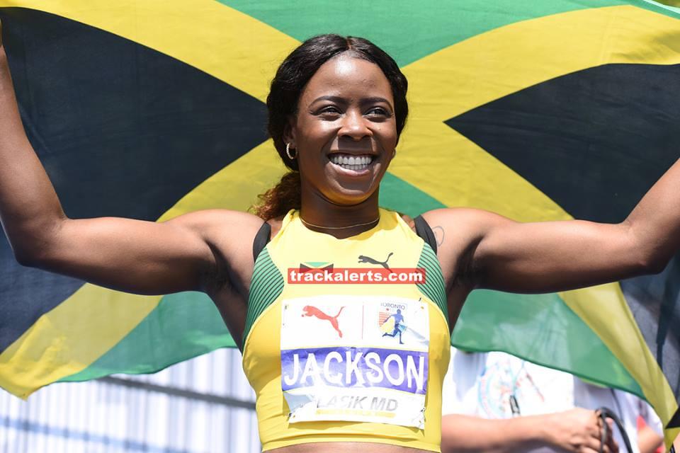 Shericka Jackson wins women's 200m at NACAC Championships