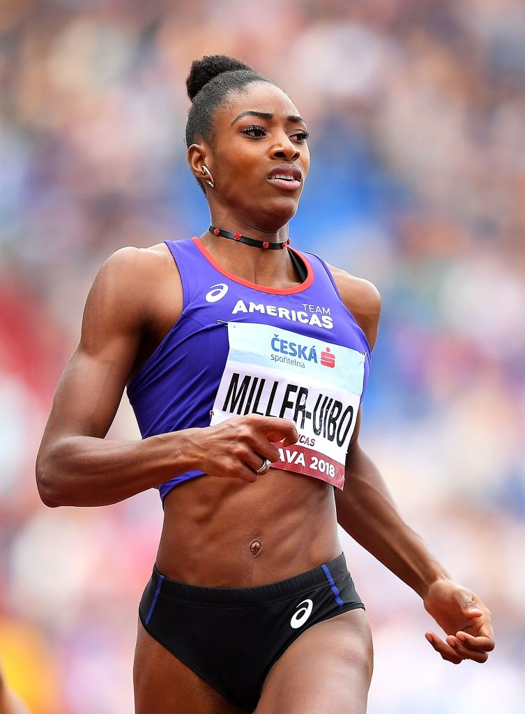 Shaunae Miller-Uibo extended her unbeaten streak to 10 races this season with her convincing victory in the 200m at the Continental Cup 2018