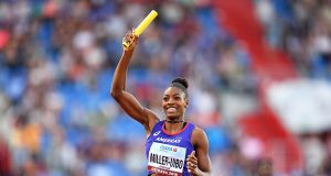 Shaunae Miller-Uibo at the Continental Cup