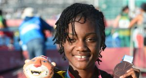 Ackera Nugent receives 100mh bronze at Youth Olympics 2018