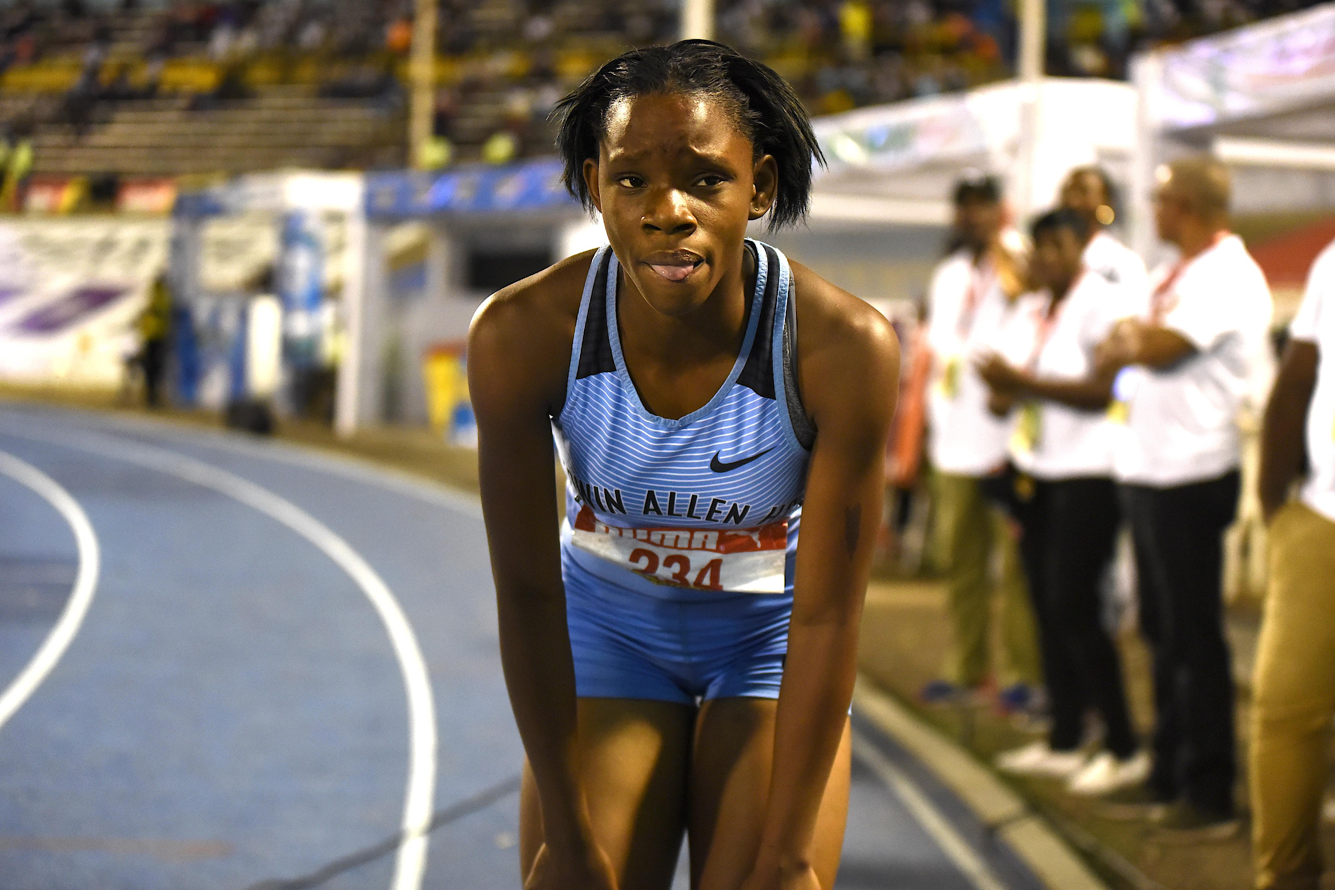 Tina Clayton at Champs 2019