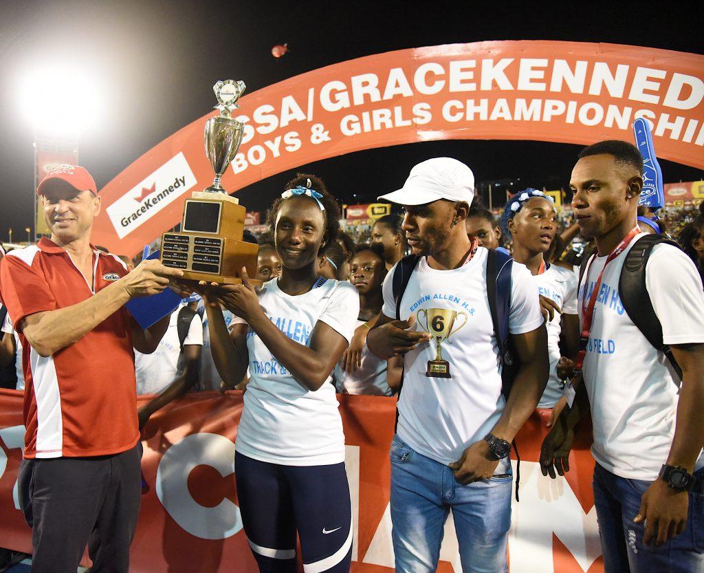 Edwin Allen wins Champs 2019