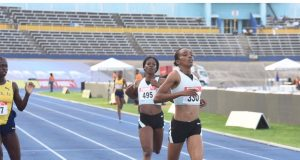 Christine Day at the 2019 Jamaica Trials