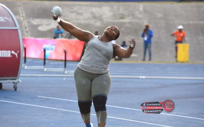Danniel Thomas-Dodd at the 2019 Jamaica trials