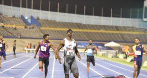 Kemar Mowatt at the 2019 Jamaica Senior and Junior National Championships