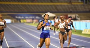 Shelly-Ann Fraser-Pryce 200m at 2019 Jamaica Trials