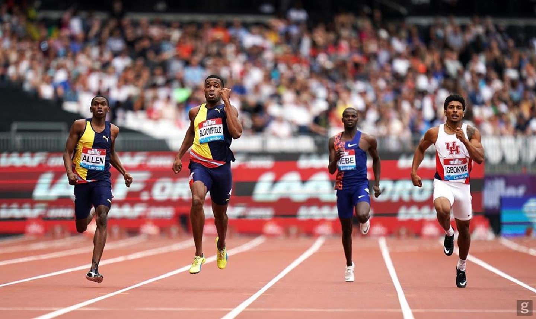 Akeem Bloomfield looks set for Doha 2019 World Championships