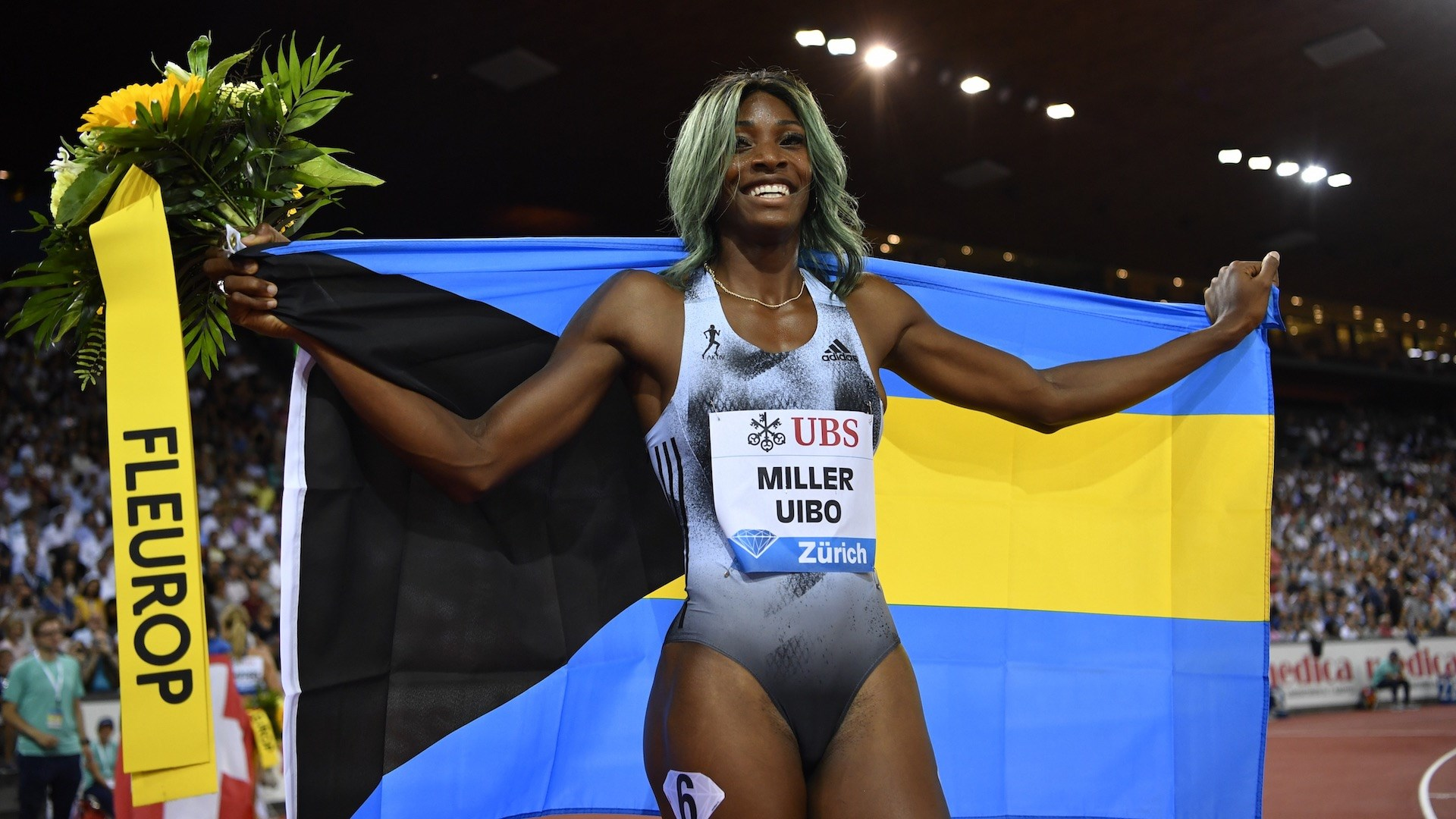 Miller-Uibo Sizzles to 21.74s PB To Win Diamond League 200m Crown