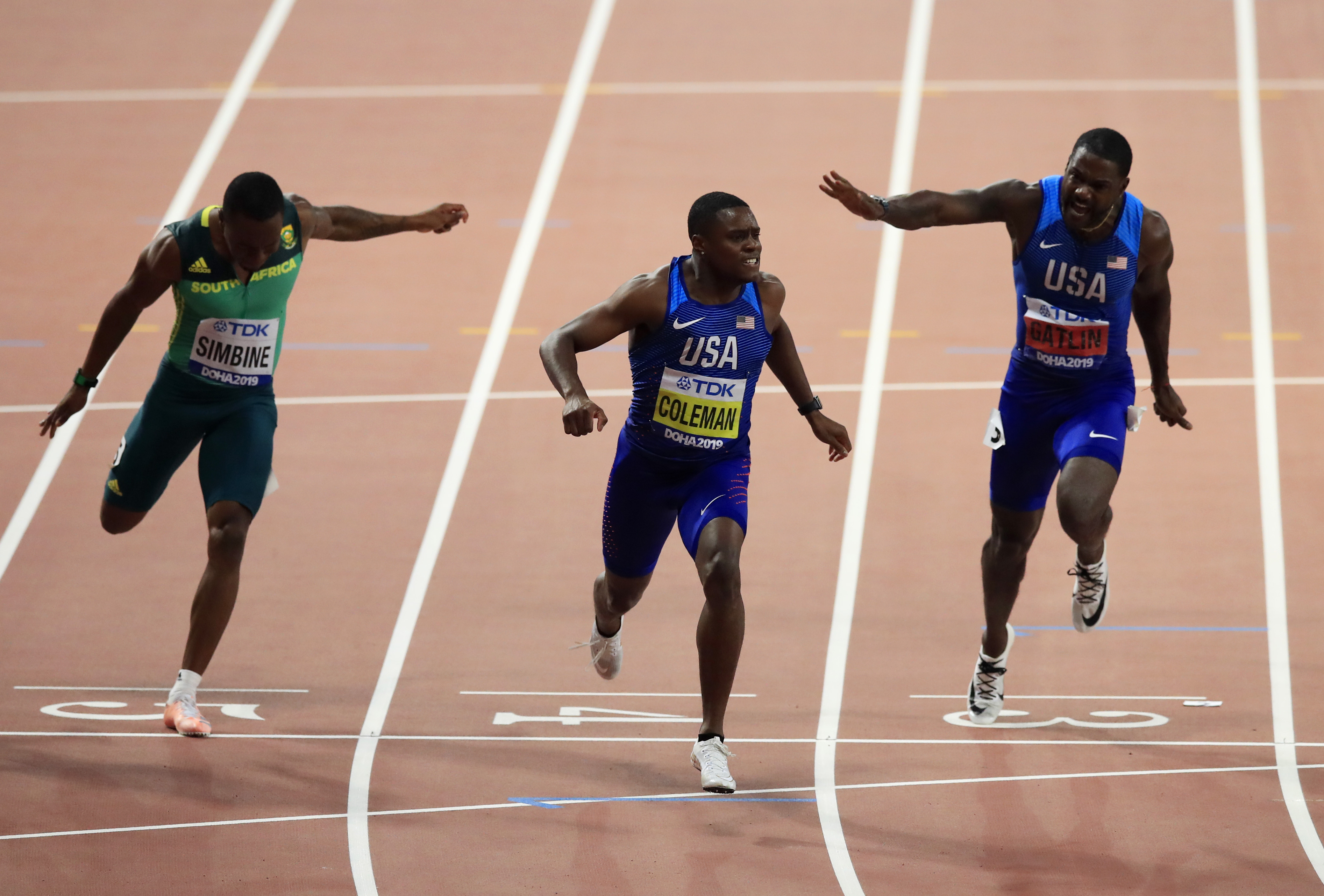 """Gatlin warns Coleman for 2020 season """"I'm coming, He'd better be ready."""""""