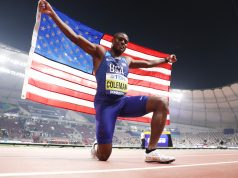 Christian Coleman wins the Doha 2019 World Athletics Championships 100m title