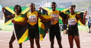 Jamaica mixed relay team wins gold in Doha 2019