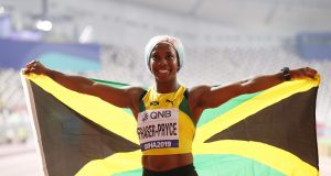 Shelly-Ann Fraser-Pryce wins her fourth world 100m title in Doha 2019