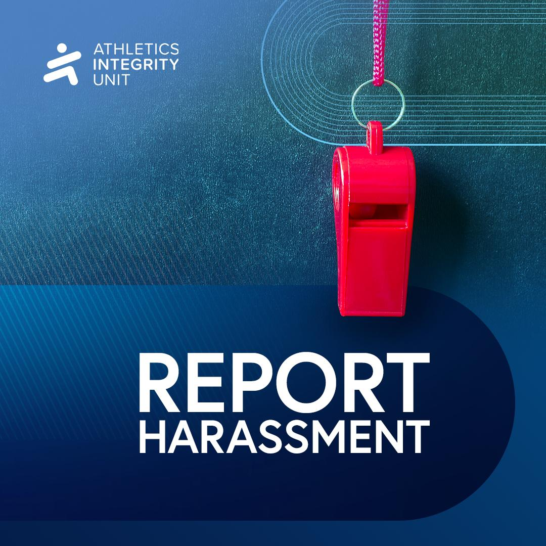 There is no place for harassment in athletics.