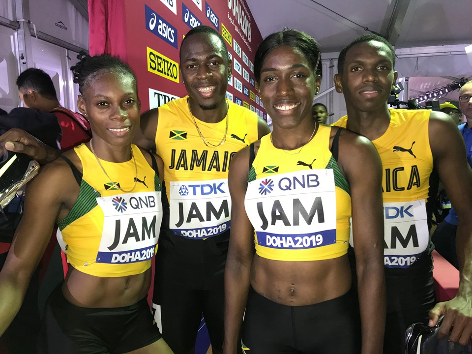 Image result for mixed relay team doha