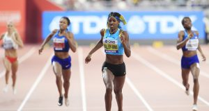 Shaunae Miller-Uibo is happy with her personal best and silver medal in Doha 2019