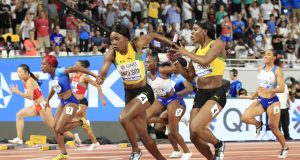 Jamaica 4x100m women relay team wins gold in Doha 2019