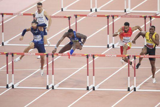 Omar McLeod misses medal in Doha 2019