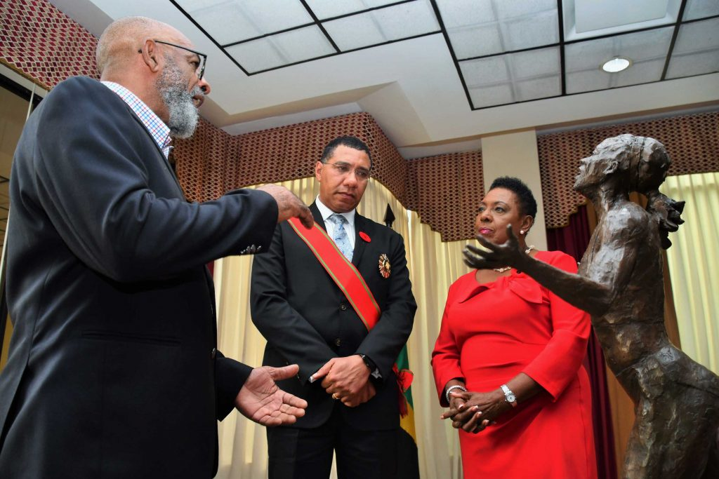 Veronica Campbell-Brown'humbled' by statue unveiled in her honour