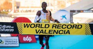 Joshua Cheptegei smashes world 10km record in Valencia