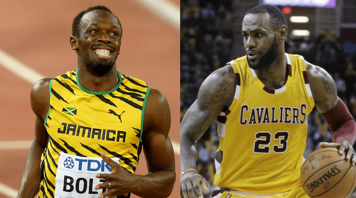 Track and field legend Usain Bolt finished third behind basketballer LeBron James as Associated Press male athlete of the decade
