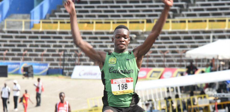 Jordon Turner wins at McKenley-Wint Track & Field Classic held at Calabar High School