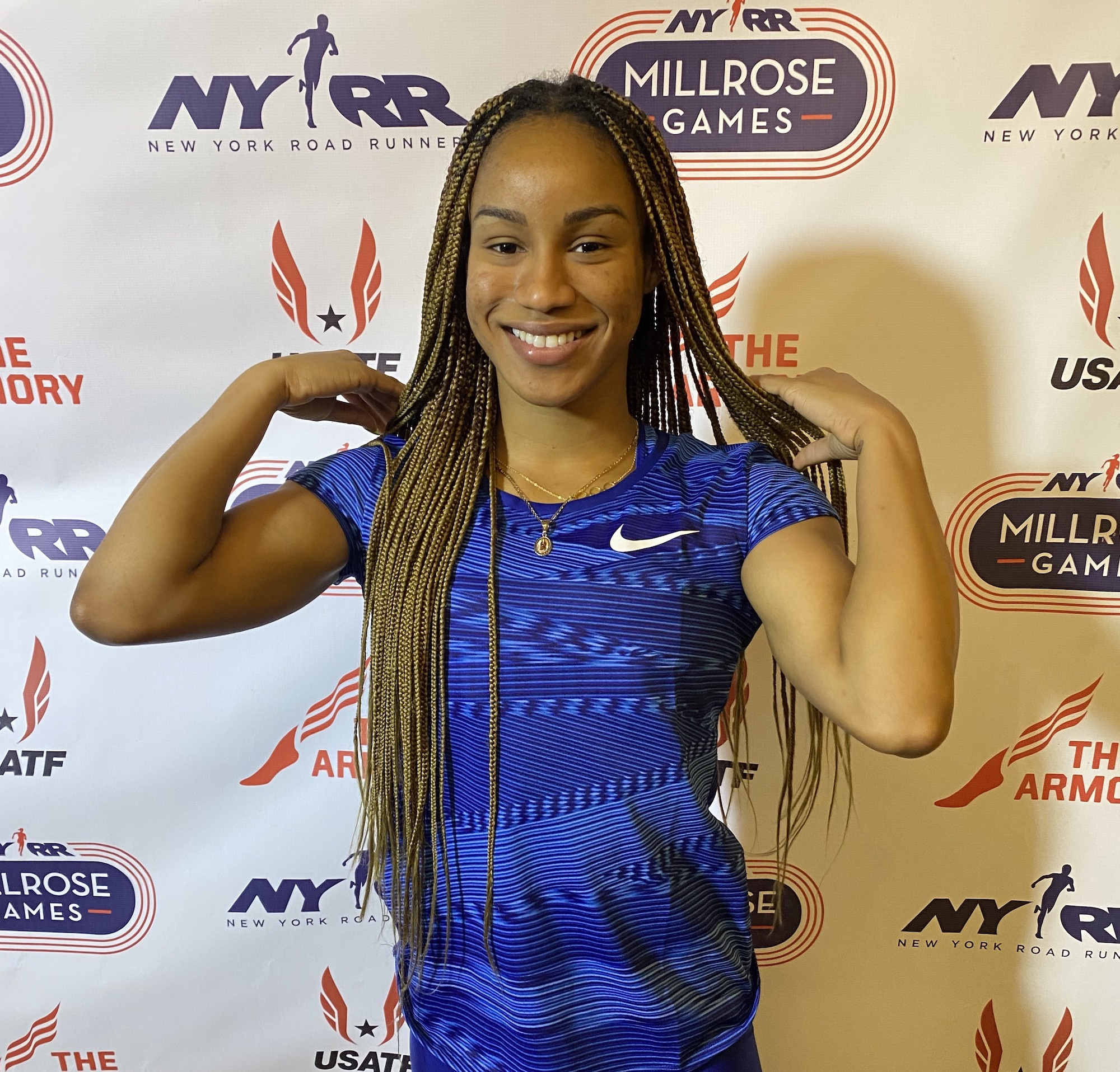 Briana Williams happy with Millrose Games 2020 outing